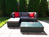 Brand new 5pc patio sectionals in box Port Coquitlam, V3B 3V7