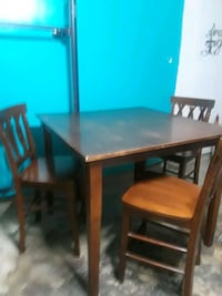 brown wooden dining table set Austin, 78729