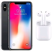 iPhone X - factory unlocked with box and accessori Springfield