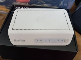 AIRTIES AIR 4340 ROUTER -ACCESS POINT-REPEATER