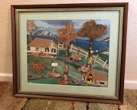 Handmade Three-Dimensional Picture Painting