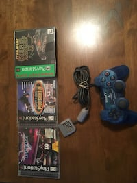 Sony PlayStation games and controller Pleasant Hill, 94523