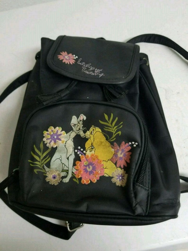 49a96e9d59ba2a Used Lady and the Tramp backpack purse for sale in Chesapeake - letgo