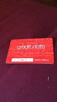 Chapters gift cards  Toronto, M4E 3W8