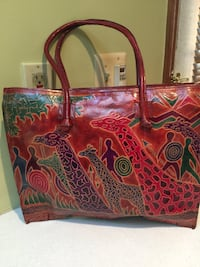 Indian leather tote  bag