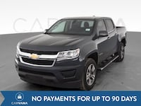 2017 Chevy Chevrolet Colorado Crew Cab pickup LT Pickup 4D 5 ft Gray