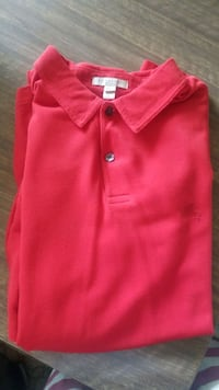 Mens Red Burberry Polo Mississauga, L5N 3A8