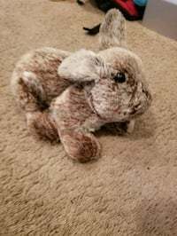 brown and white animal plush toy Summerville