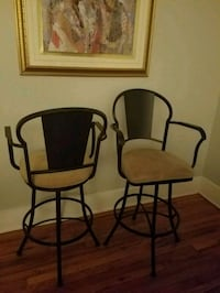 $80 for Two Counter Height Wrought Iron Stools New Orleans, 70115