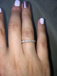 White gold and diamond ring Alexandria, 22305