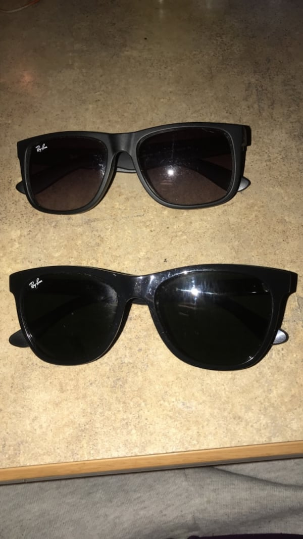 2 pairs Ray Bans 3