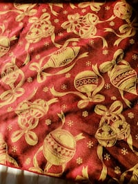 Large holiday table cloth for big table