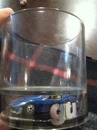 GUZZLER CUP WITH DIECAST CORVETTE