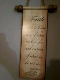 brown and black wooden quote board Surrey, V3S 8Y8