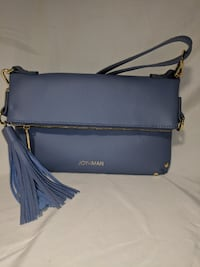JOY & IMAN Leather Convertible Crossbody bag San Diego