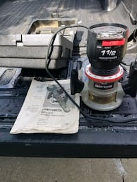 Craftsman Router 1 1/2 Horse power Akron, 44301