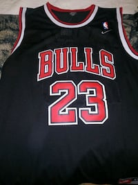 black and red Chicago Bulls 23 jersey McLean, 22102