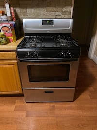 Appliances, used stove and refrigerator