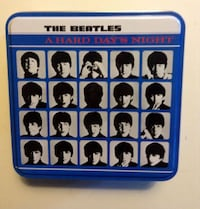 Beatles A Hard Day's Night Double-Sided Album LP Cover Jigsaw Puzzle London