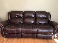Leather couch and love seat  Concord, 94521