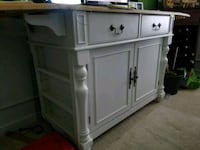 white wooden cabinet with drawer Imperial, 63052