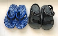 North Face and Columbia Sandals size 8 toddler Toronto, M3B 3R7