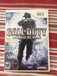 Call of Duty for Nintendo Wii Guelph, N1K 1Y4