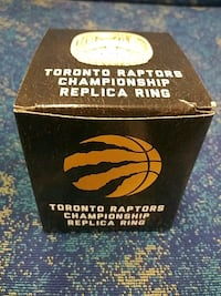 TORONTO RAPTORS NBA CHAMPIONSHIP RING Pickering, L1V 3V7