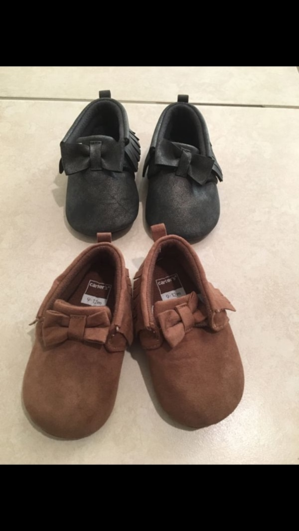 Carter's baby moccasins