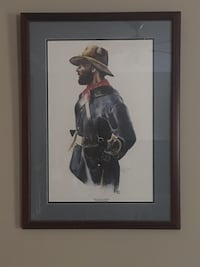 """The Lone Soldier"" by Burl Washington.  Raleigh, 27617"