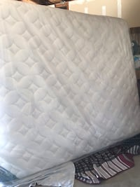 white and gray quilted mattress Bakersfield, 93307