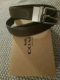 black and gray Gucci belt with box Mississauga, L4T 2A5