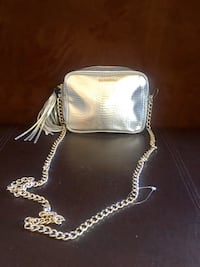 silver- crossbody Victoria's Secret bag San Luis Obispo, 93401