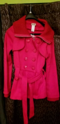 Red Peplum Jacket  Cambridge, N1T 1R1