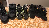 pair of black-and-yellow Nike running shoes Jackson, 39206