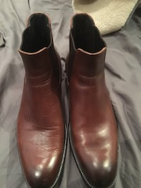 To Boot New York Adam Derrick brown leather boots sz 11
