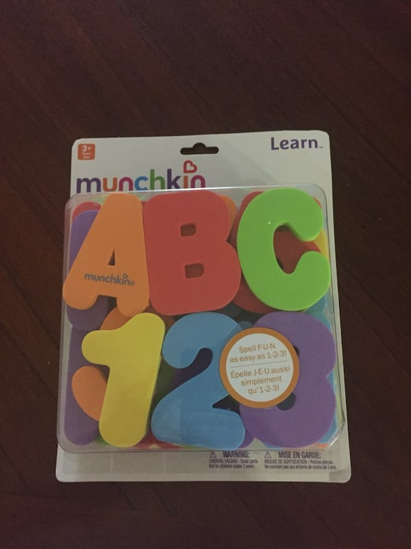 Munchkin Foam letters and numbers 2f658479-62a4-49cc-9376-efef5522d647