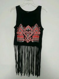 black and white tank top Spring Hill, 34609