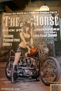 the horse backstreet choppers magazine 2010