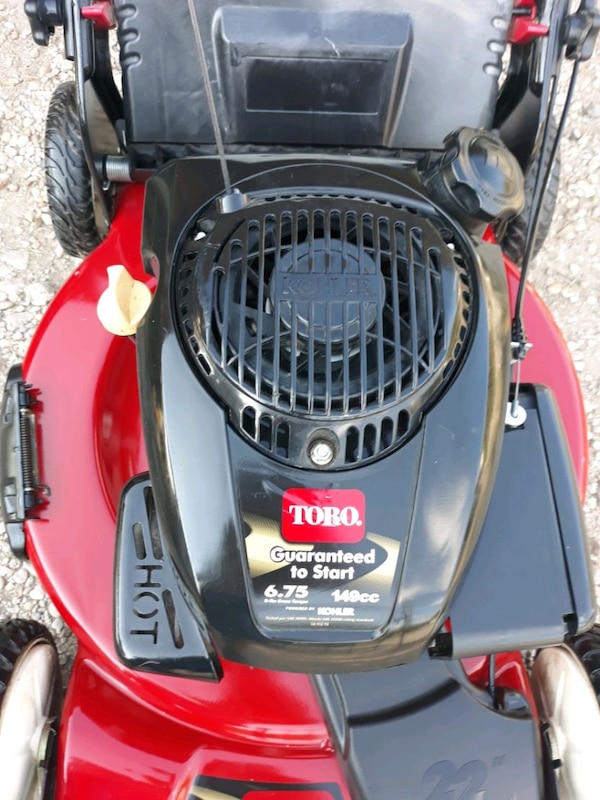 Toro Recycler Kholer Self Propelled Lawnmower with Bag