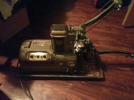 Vintage projector with audio outputs. Works!!!