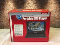 10.2 Wide Screen Portable DVD Player
