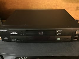 Toshida Dual Disc DVD CD Player