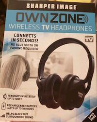 Sharper Image Own Zone Wireless Headphones  Florence, 41042