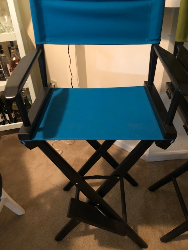 Pier 1 Fitness used pier 1 bar height director's chair for sale in atlanta - letgo