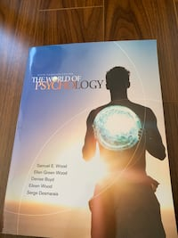 The world of psychology - bought at 240$ plus tax! Mint condition Richmond Hill, L4C 0L5