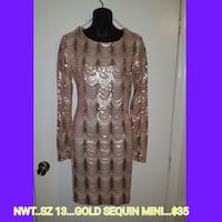 Gold Sequin Mini Jacksonville, 28540