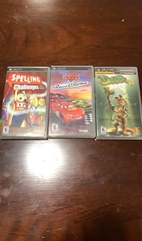 3 PSP(Play Station Portable) Games