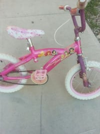toddler's pink and white bicycle Lethbridge, T1H 1J3