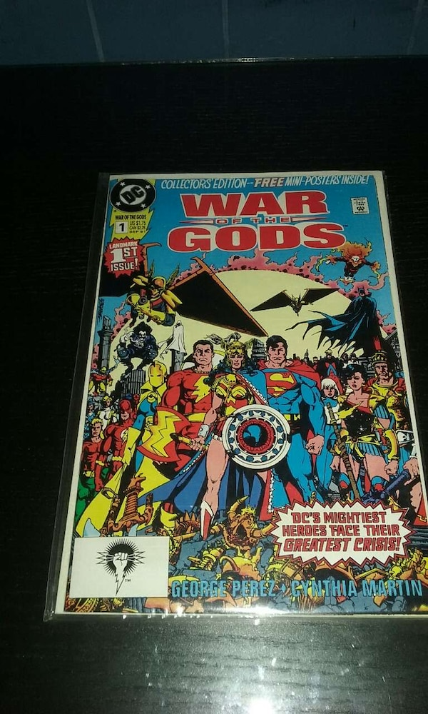 war of the gods 1-4 (complete series)